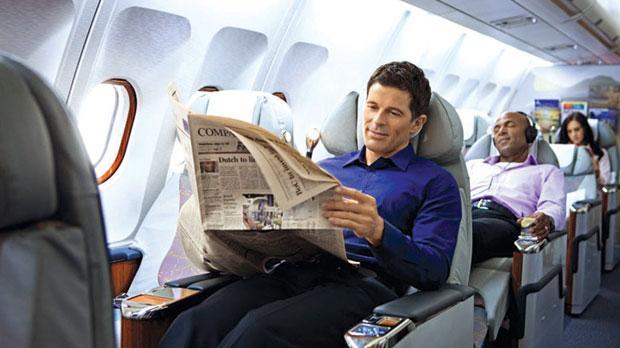 Забавная история случилась в самолете