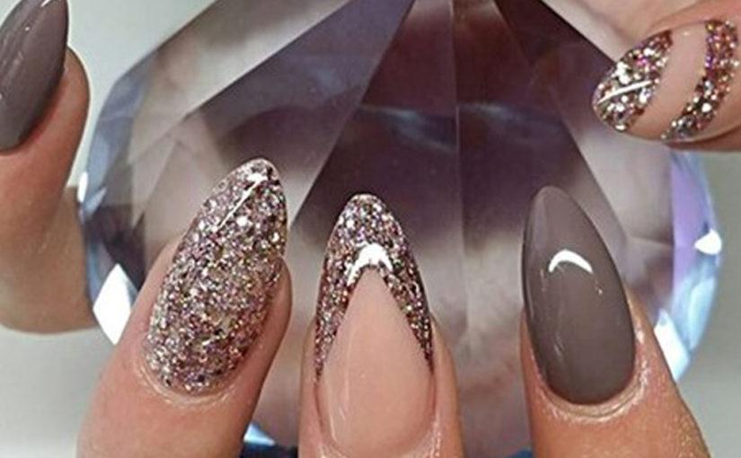 Красивые идеи маникюра на овальную форму ногтей